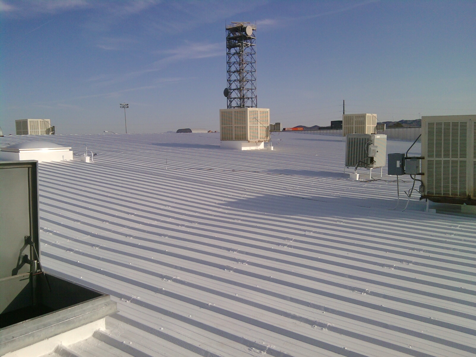 Cutter Finished Metal Roof Repairs
