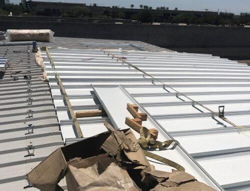 Low Profile Metal Over Metal Roof Repairs